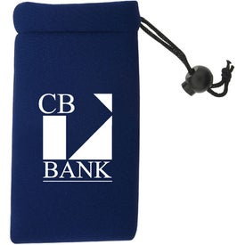 Neoprene Cell Phone Pouch Imprinted with Your Logo