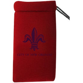 Monogrammed Neoprene Cell Phone Pouch