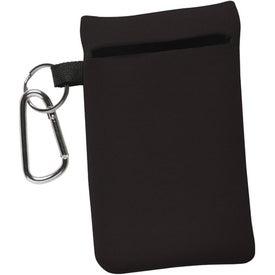 Monogrammed Neoprene Cell Phone Sleeve