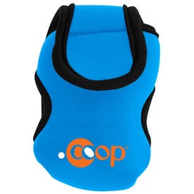 Logo Neoprene Cell Phone Holder