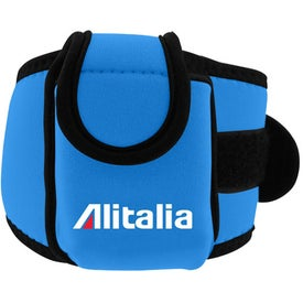 Neoprene Cell Phone Holder with Large Strap for your School