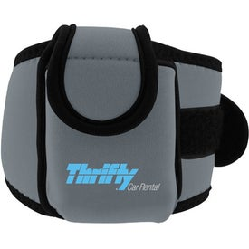 Logo Neoprene Cell Phone Holder with Large Strap