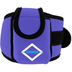 Personalized Neoprene Cell Phone Holder with Large Strap