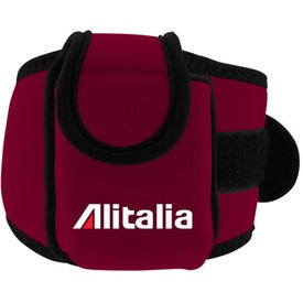 Custom Neoprene Cell Phone Holder with Large Strap