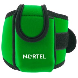 Neoprene Cell Phone Holder with Large Strap Printed with Your Logo