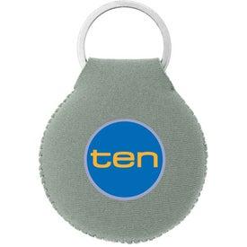 Neoprene Disc Key Chain for Customization