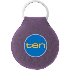 Neoprene Disc Key Chain for Your Company