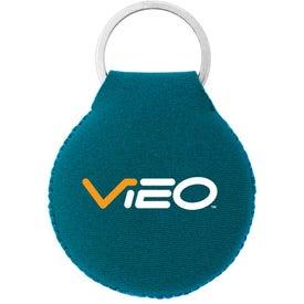 Company Neoprene Disc Key Chain