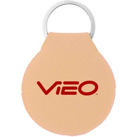 Neoprene Disc Key Chain Printed with Your Logo