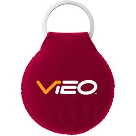 Neoprene Disc Key Chain for Your Organization