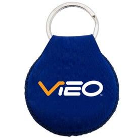 Neoprene Disc Key Chain for Marketing