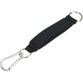 Neoprene Key Holder with Clip