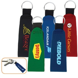 Printed Neoprene Key Chain