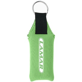 Imprinted Neoprene Key Fob
