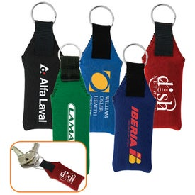 Branded Neoprene Key Fob