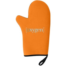 Neoprene Oven Mitt Printed with Your Logo