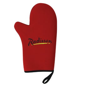 Neoprene Oven Mitt Branded with Your Logo