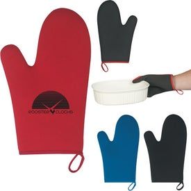 Neoprene Oven Mitt With Loop
