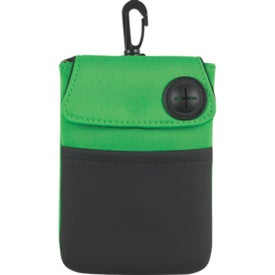 Logo Neoprene Portable Electronics Case