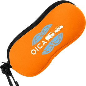 Neoprene Sunglass Pouch Branded with Your Logo