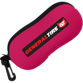 Neoprene Sunglass Pouch Imprinted with Your Logo