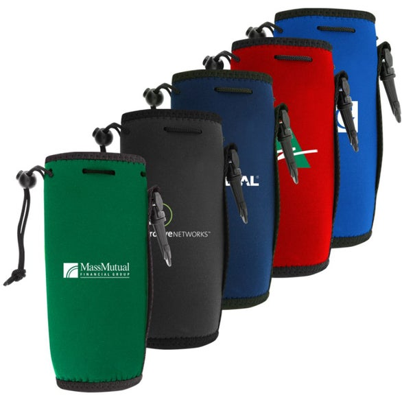 Trade Show Giveaways » Neoprene Water Bottle Holder