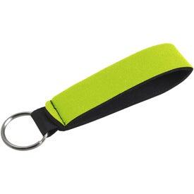 Company Neoprene Wrist Strap Key Holder