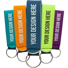 Neoprene Wrist Strap Key Holders