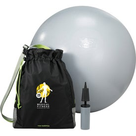 New Balance PVC Free Exercise Ball and Fitness Bag