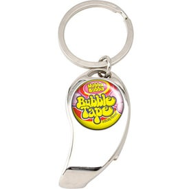 Large Nickel Split Key Ring