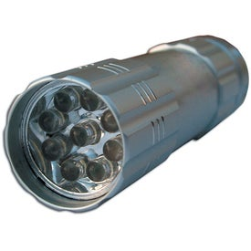 Customized 9 LED Aluminum Flashlight