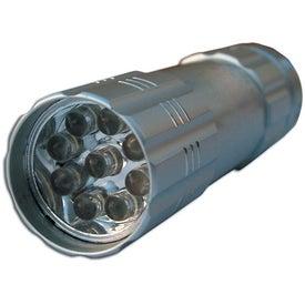 Customized 9 LED Aluminum Flashlight