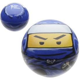 Custom Ninja Promo Bouncer Ball