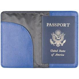 Monogrammed Nomad Passport Holder