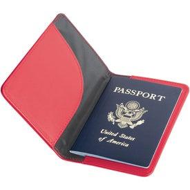 Imprinted Nomad Passport Holder