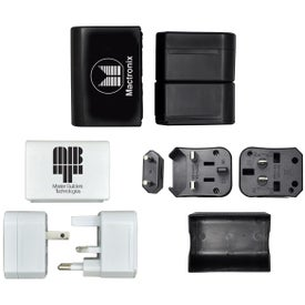 Customized Nomad Travel Adapter