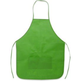 Non-Woven Apron with Your Slogan
