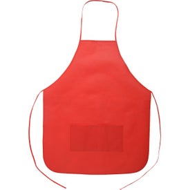 Non-Woven Apron Printed with Your Logo
