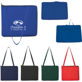 Non-Woven Foldable Outdoor Mat for Advertising