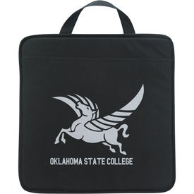 Non Woven Stadium Cushion Imprinted with Your Logo