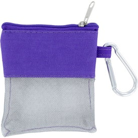 Note Travel Pouch Imprinted with Your Logo