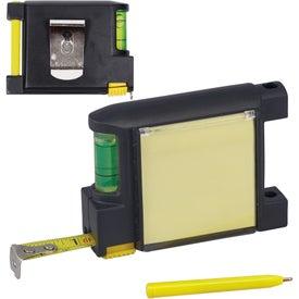 Monogrammed Notepad Tape Measure