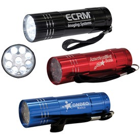 Novenary LED Flashlight