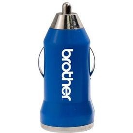 Advertising Nugget USB Car Power Adaptor