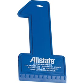 Number 1 Ice Scraper for Marketing