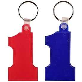 Advertising Number One Key Fob