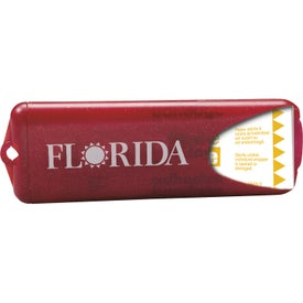 Imprinted Nuvo Bandage Dispenser with Translucent Bandages