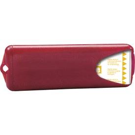 Customized Nuvo Bandage Dispenser with Translucent Bandages