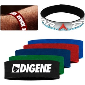 Branded Nylon Adult Wrist Bands