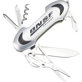 Oblong 9 Function Pocket Knife